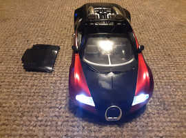 Bugatti Veyron remote radio controlled car