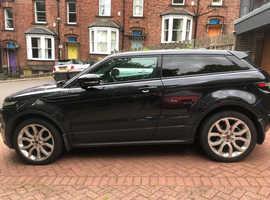 Land Rover Range Rover Evoque, 2011 (61) Black Coupe, Automatic Diesel, 69,000 miles