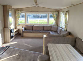 BARGAIN STATIC CARAVAN FOR SALE 2016 MODEL CENTRAL HEATED DOUBLE GLAZED 12FT WIDE EAST COAST