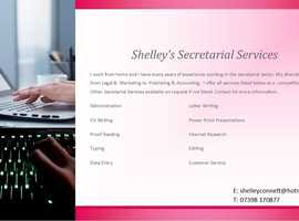Shelley's Secretarial Services