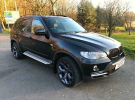 BMW X5, 2010 Black Estate, Automatic Diesel Twin Turbo 7 Seats