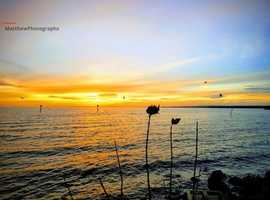 Lough Neagh At Sunset Prints