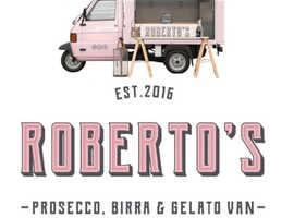 Roberto's Prosecco, Birra and Gelato Van
