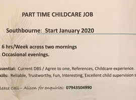Part Time Child Care