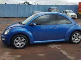Volkswagen Beetle, 2003 (53) Blue Hatchback, Manual Diesel, 187,000 miles