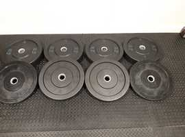Olympic Weight Plates, Strength Shop Riot Bumper Plates 110kg..