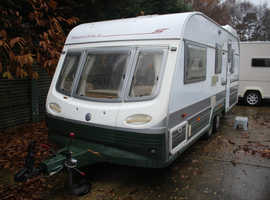 Avondale Landranger 5500 1997 4 Berth Twin Axle Caravan + Full Awning + Winter Cover