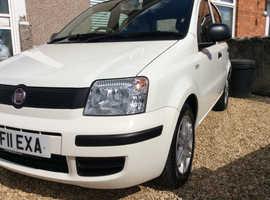 Fiat Panda, 2011, FSH, £30TAX, White, Aircon, Manual Petrol, 47,655 miles
