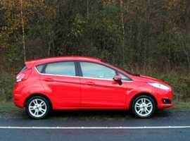 Ford Fiesta, 2014 (14) Red Hatchback, Manual Petrol, 32,000 miles, 01443 831670