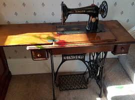 Singer Sewing Machine - Antique, Rare