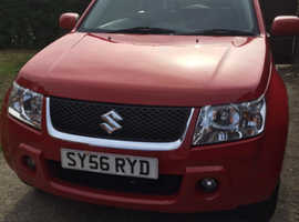 Suzuki Grand Vitara, 2007 (56) Red Estate, Manual Petrol, 116,055 miles