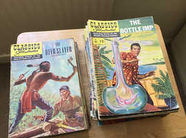 Interesting collection of Classics Illustrated comics