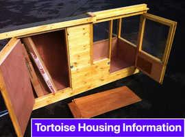 New Premium Tortoise Houses with Sunroom