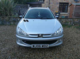Peugeot 206, 2006 (06) Silver Estate, Manual Petrol, 76,279 miles