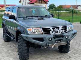 Nissan PATROL GR, 2004 (04) Silver Estate, Automatic Diesel, 136,100 miles