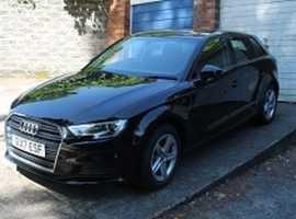 Audi A3, 2017 (17) Black Hatchback, Manual Diesel, 003743. miles