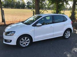 Volkswagen Polo, 2012 (12) White Hatchback, Manual Diesel, 65,600 miles
