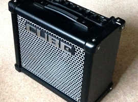 Roland Cube 10GX guitar amplifier ..as new