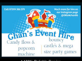 Chan's Event Hire Chelmsford Essex