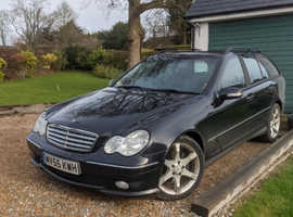 Mercedes C CLASS, 2005 (55) Black Estate, Automatic Diesel, 133,710 miles