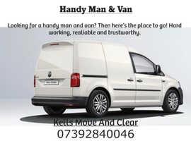 Handyman and van