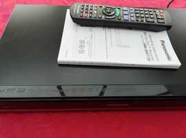 Panasonic Blu-ray disc and hard drive recorder