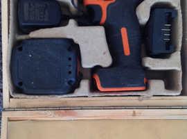 Black and decker lithium cordless drill