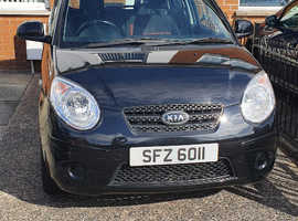 Kia Picanto, 2011 (11) Black Hatchback, Manual Petrol, 72,000 miles