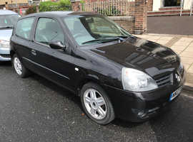 Renault Clio, 2007 (07) Black hatchback, Manual Petrol, 84994 miles
