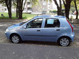 Fiat Punto, 2004 (04) Blue Hatchback, Manual Petrol, 78,256 miles