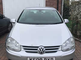 Volkswagen Golf, 2008 (08) Silver Hatchback, Manual Diesel, 185,000 miles