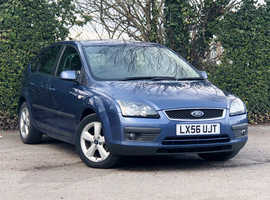 2006 (56) FORD FOCUS 1.6 ZETEC Climate 5 Dr Hatchback in BLUE, Only 76k Miles, NEW 12 MONTH MOT, 2 Previous Keepers