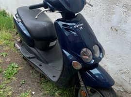 MBK Ovetto 2003 50cc Moped Blue