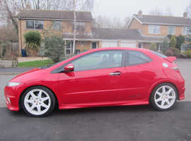 Honda Civic, 2007 (57) Red Hatchback, Manual Petrol, 103,901 miles