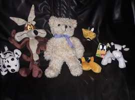 5 Brand New Soft Toys £16