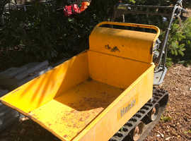 The Handy Mini Transporter Powered Tracked Barrow Dumper