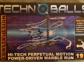 Technoballs 'Perpetual Motion Power-Driven Marble Run' (as new)