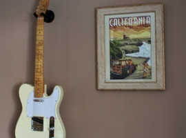 Superb Telecaster Custom Copy - Vintage White - Immaculate Great Specs.