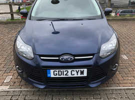 Ford Focus, 2012 (12) Blue Hatchback, Manual Petrol, 76,000 miles