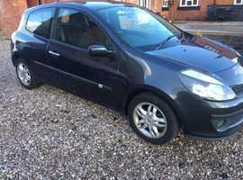 Renault Clio, 2007 (57) Grey Hatchback, Manual Diesel, 75,288 miles