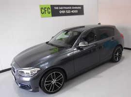 BMW 1 series, 2017 (66) Grey Hatchback, Manual Diesel, 100,000 miles