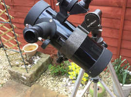 200 x magnification telescope and full size tripod