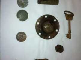 Hunting local history with a metal detector, finding your lost treasure