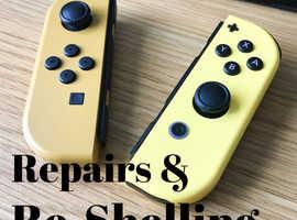 Nintendo Switch Repairs & Re-Shelling