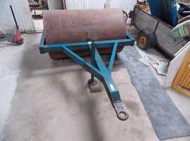 Water Filled Ballast Heavy Roller Farm Tractor Field Paddock 5ft Roller Width