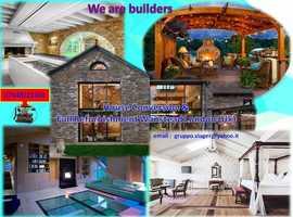 Garage builds or conversions *Garden boundary walls * Pergolas , decking  & decoration