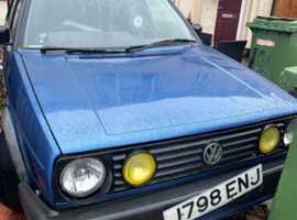 Volkswagen GOLF DRIVER, 1991 (J) Blue Hatchback, Manual Petrol, 127,465 miles