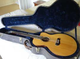 Tacoma EM14C (USA Made) Little Jumbo Solid Wood Acoustic Guitar