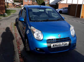 Suzuki Alto, 2009 (09) Blue Hatchback, Manual Petrol, 57,000 miles