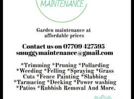 Smuggy Maintenance free no obligation quotes